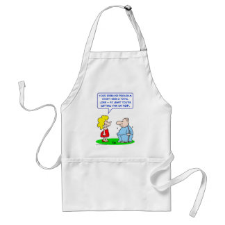 exercise thin top adult apron