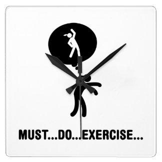 Exercise Wall Clocks
