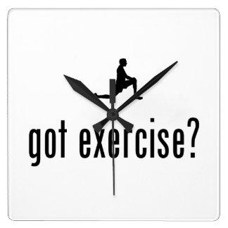 Exercise Wallclocks