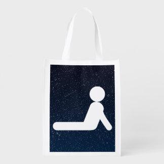 Exercising Bendings Minimal Grocery Bag
