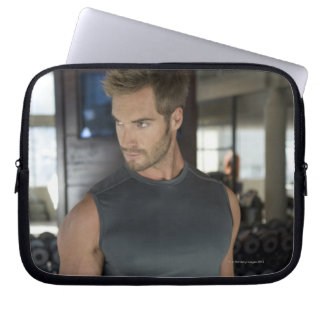 Exercising, Gym, Sport, Man, Body care, Day, Computer Sleeve