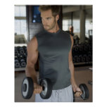 Exercising, Gym, Sport, Man, Body care, Day, Poster