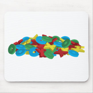 Exes and Ohs Mouse Pad