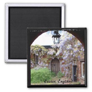 Exeter, Bishops House, England (Fridge Magnet) Magnet