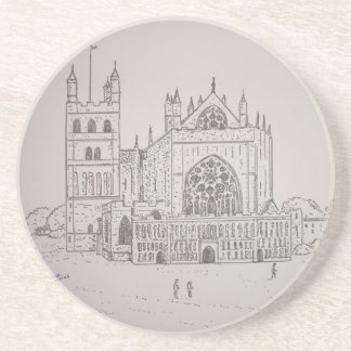 Exeter Cathedral Coaster
