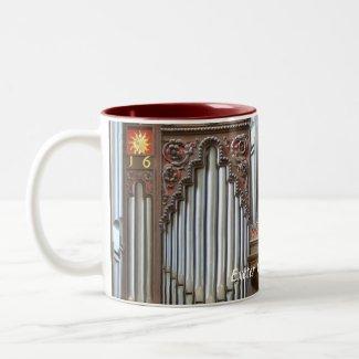 Exeter Cathedral organ, closeup