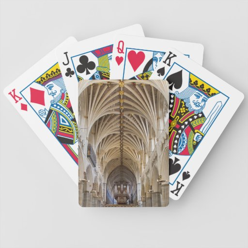 Exeter Cathedral playing cards