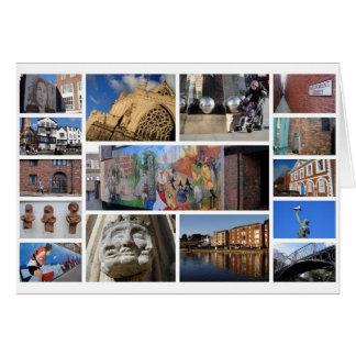 Exeter greetings card