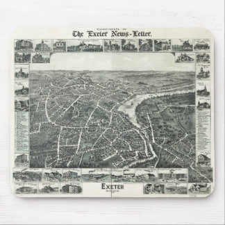 Exeter, New Hampshire (1896) Mouse Pad