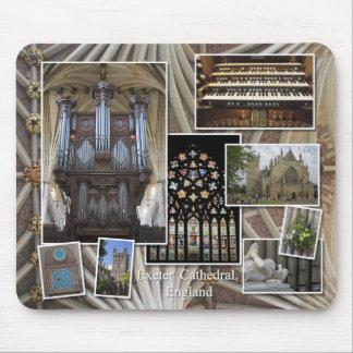 Exeter organ mousepad
