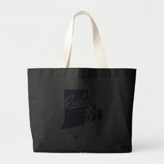Exeter Rhode Island RI Shirt Canvas Bags