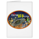 Exeter UFO Festival Greeting Card