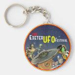 Exeter UFO Festival Keychain