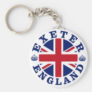 Exeter Vintage UK Design Keychain