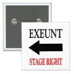 Exeunt Stage Right Pins