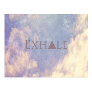 Exhale Postcard