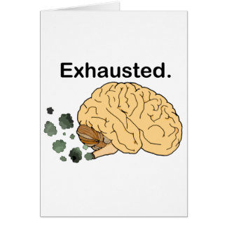 Exhausted Card