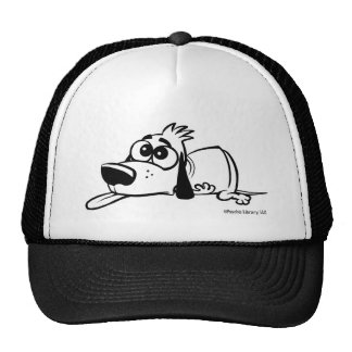Exhausted Doggy T-Shirt Trucker Hat