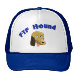 Exhausted FTF hound Trucker Hat