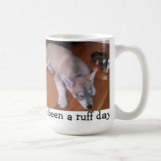 Exhausted Puppy Mug