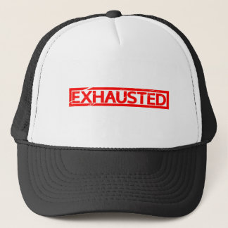 Exhausted Stamp Trucker Hat