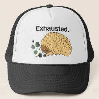 Exhausted Trucker Hat