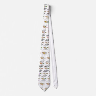Exhaustion Is In My DNA (DNA Replication) Neck Tie