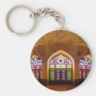 EXHIBICIÓN con respecto: Lugar de culto religioso Llavero Redondo Tipo Pin