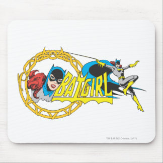 Exhibición de Batgirl Alfombrillas De Raton