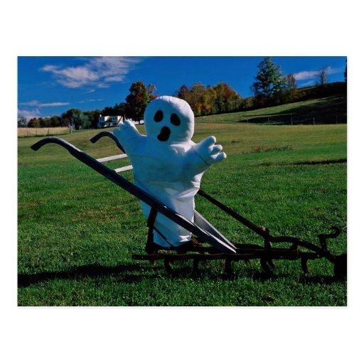 Exhibición de Halloween, goblin Postales