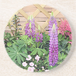 Exhibición de la caja de la flor posavasos manualidades