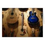 exhibición de la guitarra felicitación