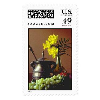 Exhibición de la uva sello