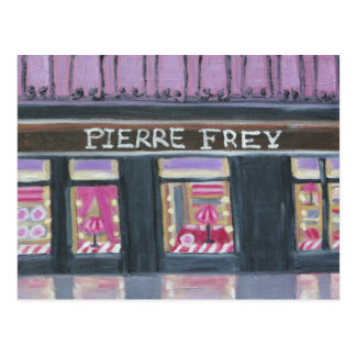 Exhibición de la ventana de Pedro Frey Postales