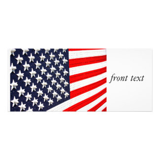 Exhibición de las luces de la bandera americana