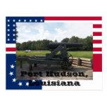 Exhibición del cañón del cerco del parque de estad tarjetas postales