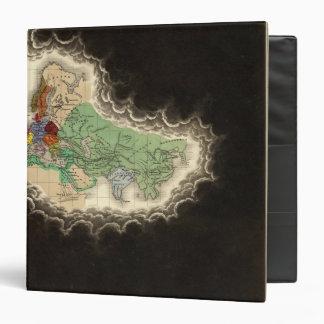 """Exhibición del imperio del ANUNCIO 1294 de Kublai Carpeta 1 1/2"""""""