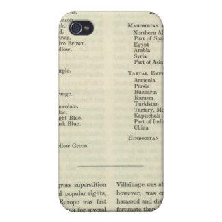 Exhibición del imperio del ANUNCIO 1294 de Kublai  iPhone 4 Carcasa