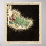 Exhibición del imperio del ANUNCIO 1294 de Kublai  Póster