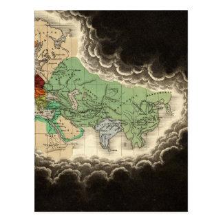 Exhibición del imperio del ANUNCIO 1294 de Kublai Postal