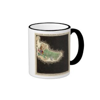 Exhibición del imperio del ANUNCIO 1294 de Kublai  Taza De Café