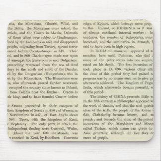 Exhibición del imperio del ANUNCIO 2 de Carlomagno Tapete De Raton