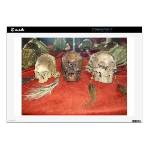 Exhibición encogida del vudú de las cabezas calcomanía para 43,2cm portátil