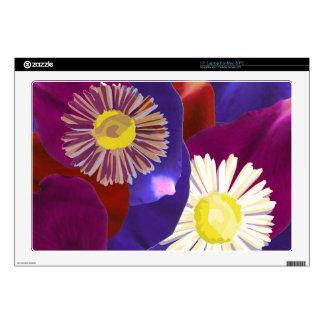 Exhibición floral 2013 Arte del pétalo color de Portátil Calcomanías