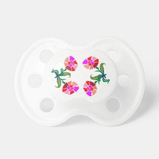 Exhibición floral LINDA Gráficos de la decoración Chupete De Bebé