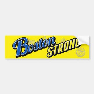 Exhibición fuerte de la ciudad de Boston Pegatina Para Auto