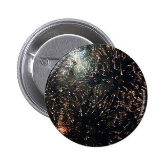 exhibición grande del chapoteo del meteorito de lo pins
