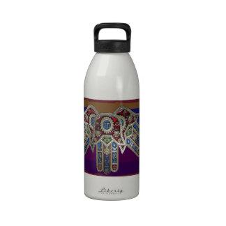 EXHIBICIÓN solamente ICONOS religiosos decorativo Botallas De Agua