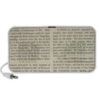 Exhibiting The Empire of Charlemagne 814 AD 2 iPod Speaker