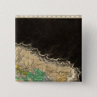Exhibiting The Empire of Charlemagne 814 AD Pinback Button